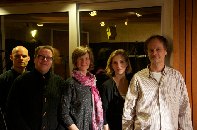 "Recording ""On the Mo"" at Hansa-Studio, Berlin!"