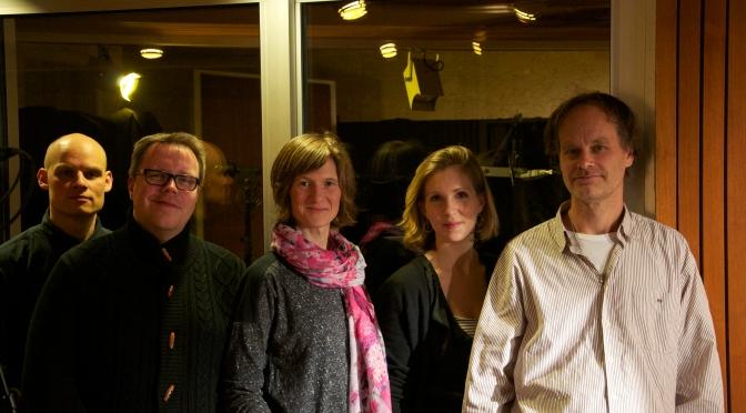 "Recording ""On the Mo"" at Hansa-Studio, Berlin!"